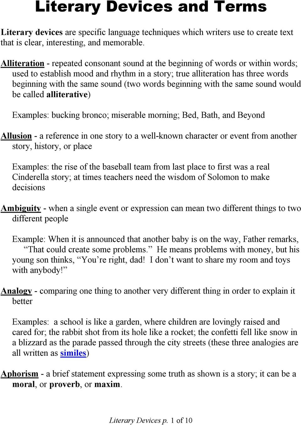 Examples Of A Analogy Image Collections Example Cover Letter For