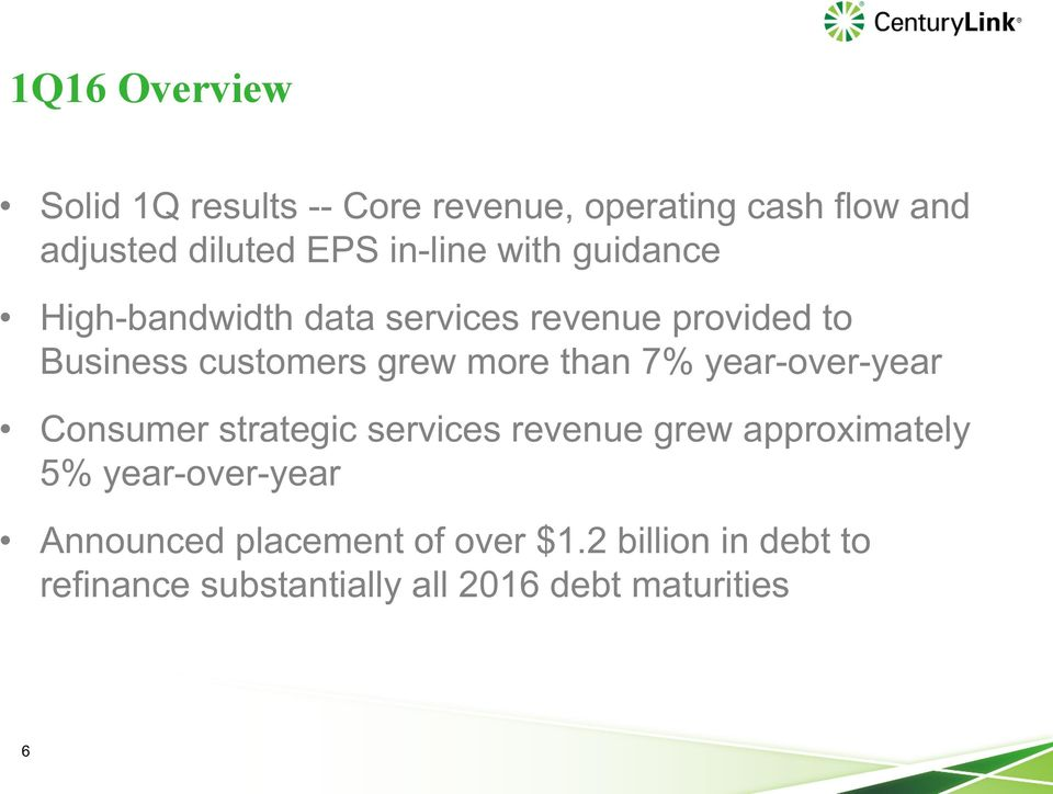 more than 7% year-over-year Consumer strategic services revenue grew approximately 5%