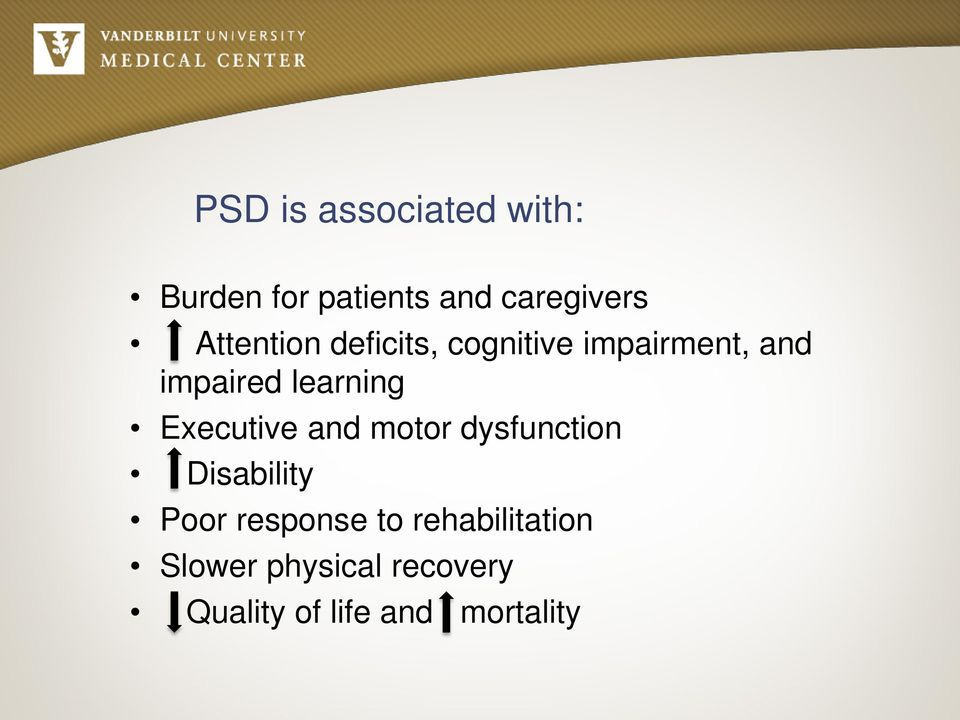 learning Executive and motor dysfunction Disability Poor