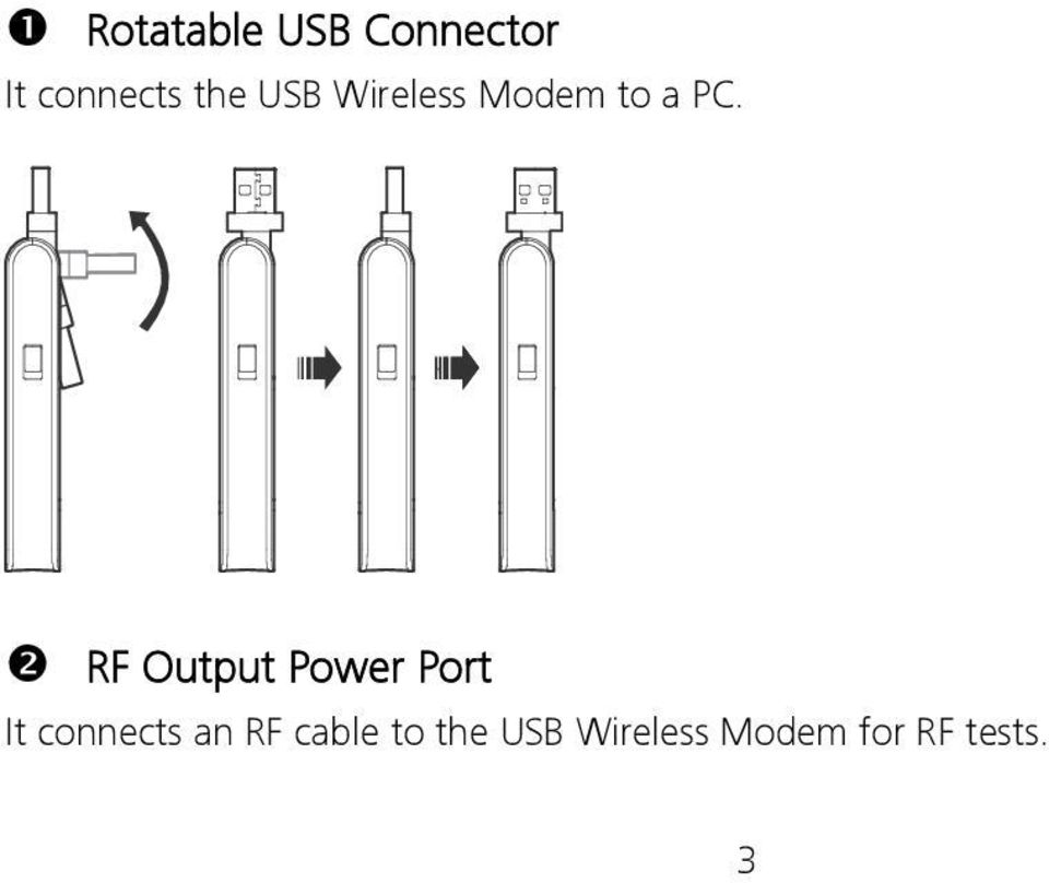 RF Output Power Port It connects an RF