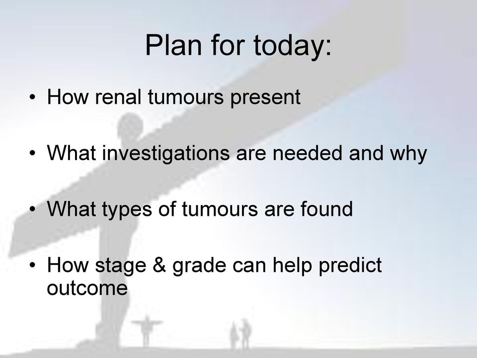 and why What types of tumours are