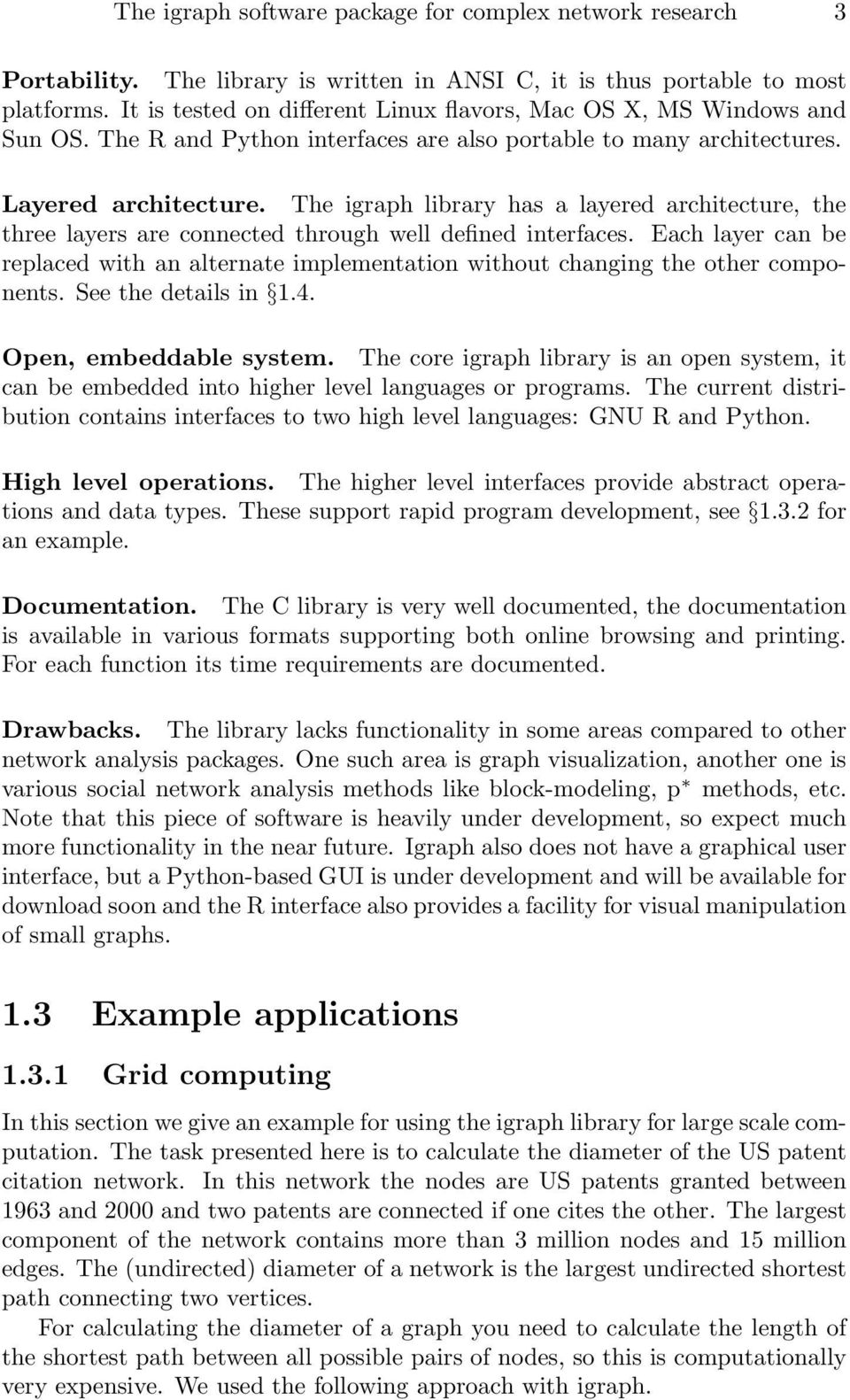 The igraph software package for complex network research - PDF