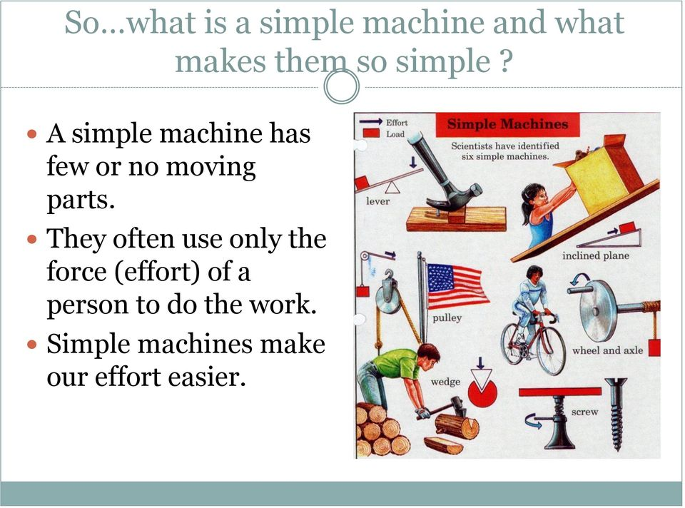 How Does A Pulley Make Work Easier : Force and motion notes pdf