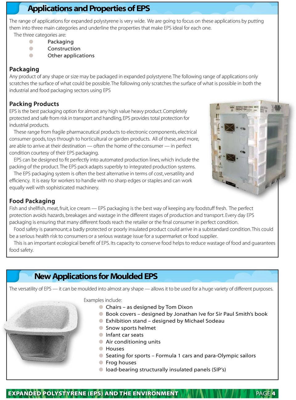 Expanded Polystyrene (EPS) and the Environment - PDF