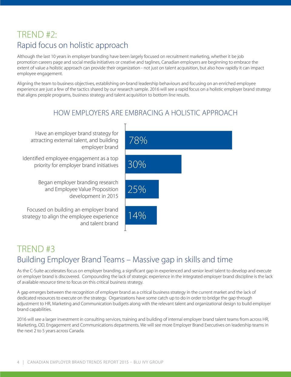 also how rapidly it can impact employee engagement.