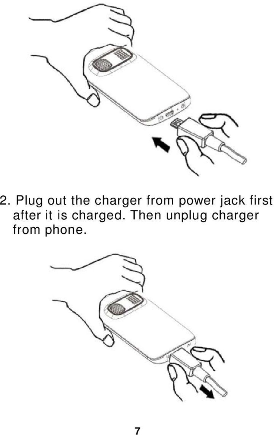 after it is charged.