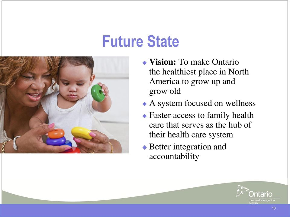 wellness Faster access to family health care that serves as the