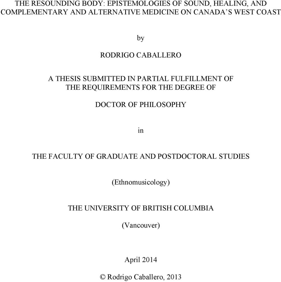 ubc faculty of graduate studies dissertation The university of british columbia ubc thesis the ma in germanic studies as outlined in the faculty of graduate and postdoctoral studies guidelines.