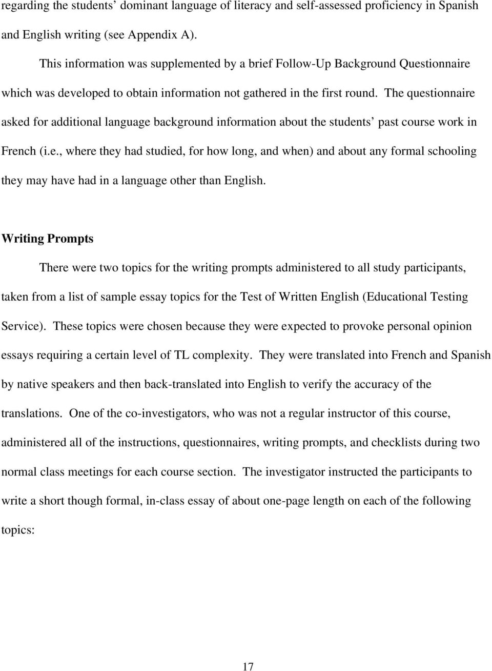 George Washington Essay Paper  Psychology As A Science Essay also College Essay Papers Sample Essay Topics For High School Research Paper Samples  The Thesis Statement In A Research Essay Should