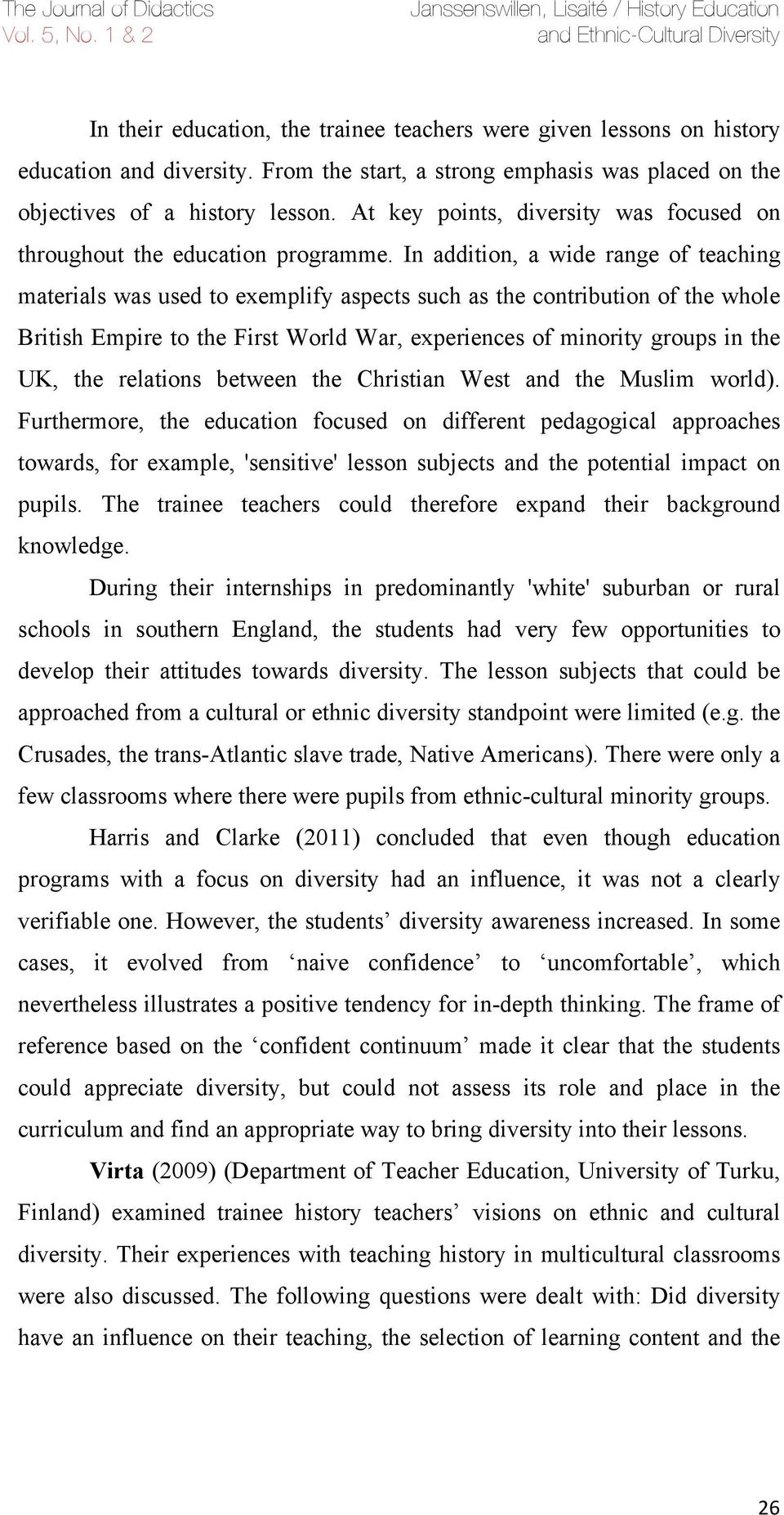 Multicultural Education in the US Schools&nbspEssay