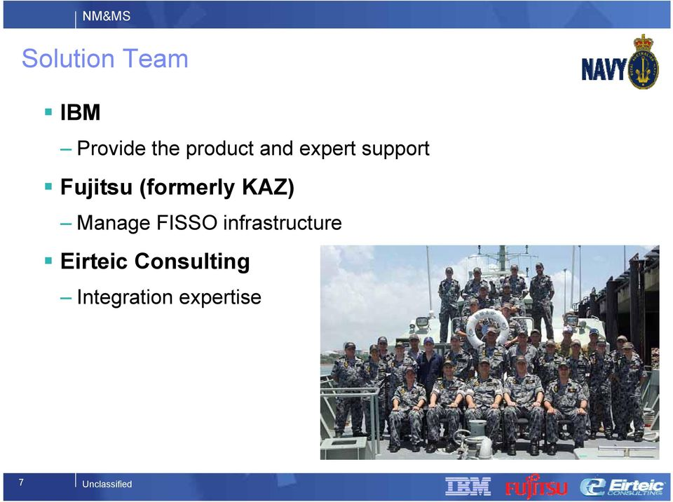KAZ) Manage FISSO infrastructure