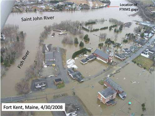 Record flooding along the Fish and Saint John Rivers northeast Maine, 4/30/2008 St-Jean-sur-Richelieu, Quebec, Canada, 5/6/11 Photo: AP//Canadian Press, R.