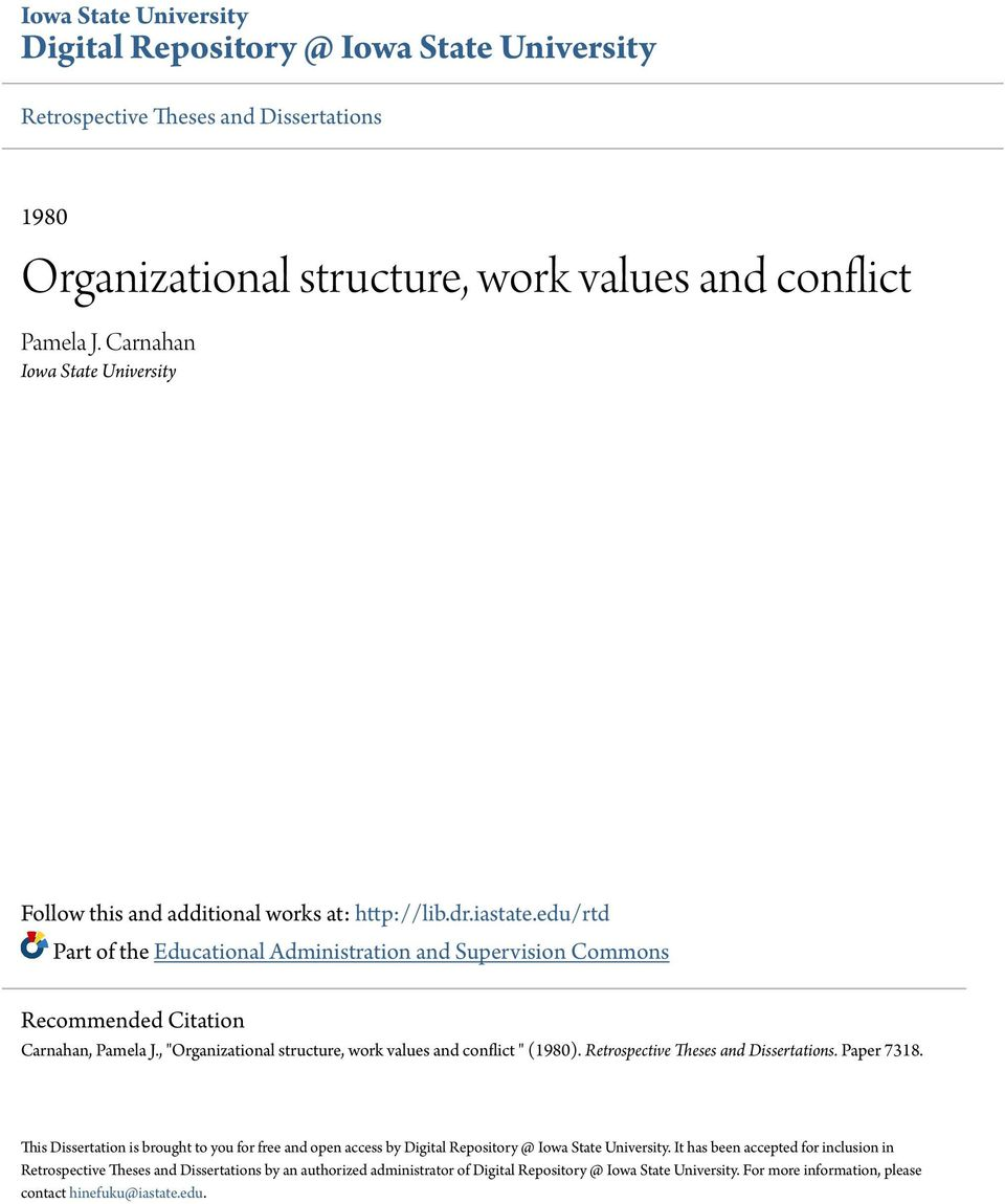 citation and organizational structure A functional organizational structure is one of several reporting structures a company could implement read on to learn why a company might implement a functional structure and the advantages and.