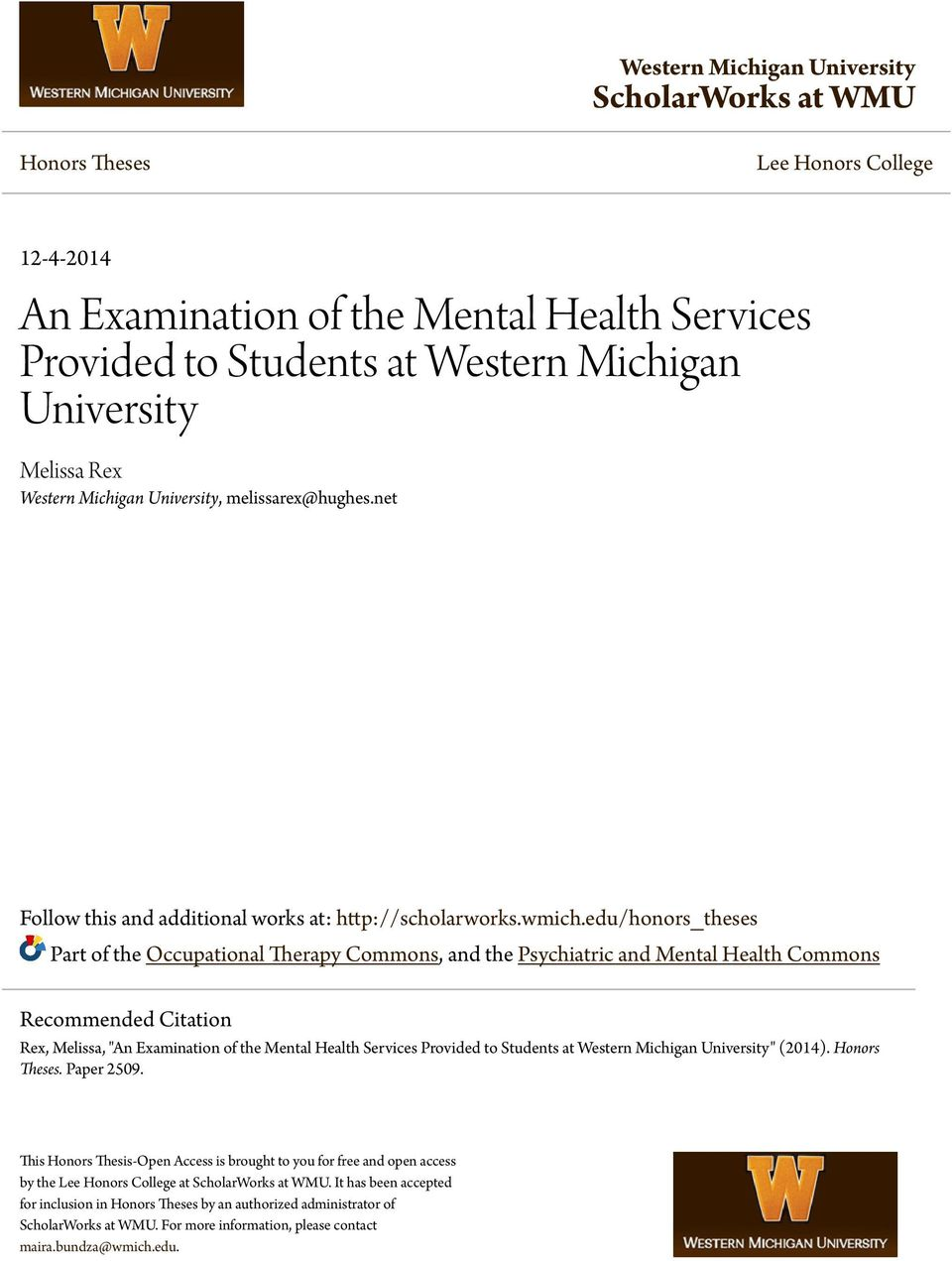 Mental Health Counseling help essays