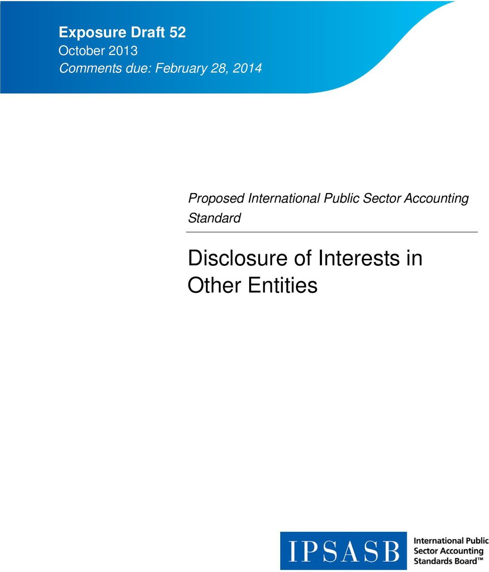 International Public Sector Accounting