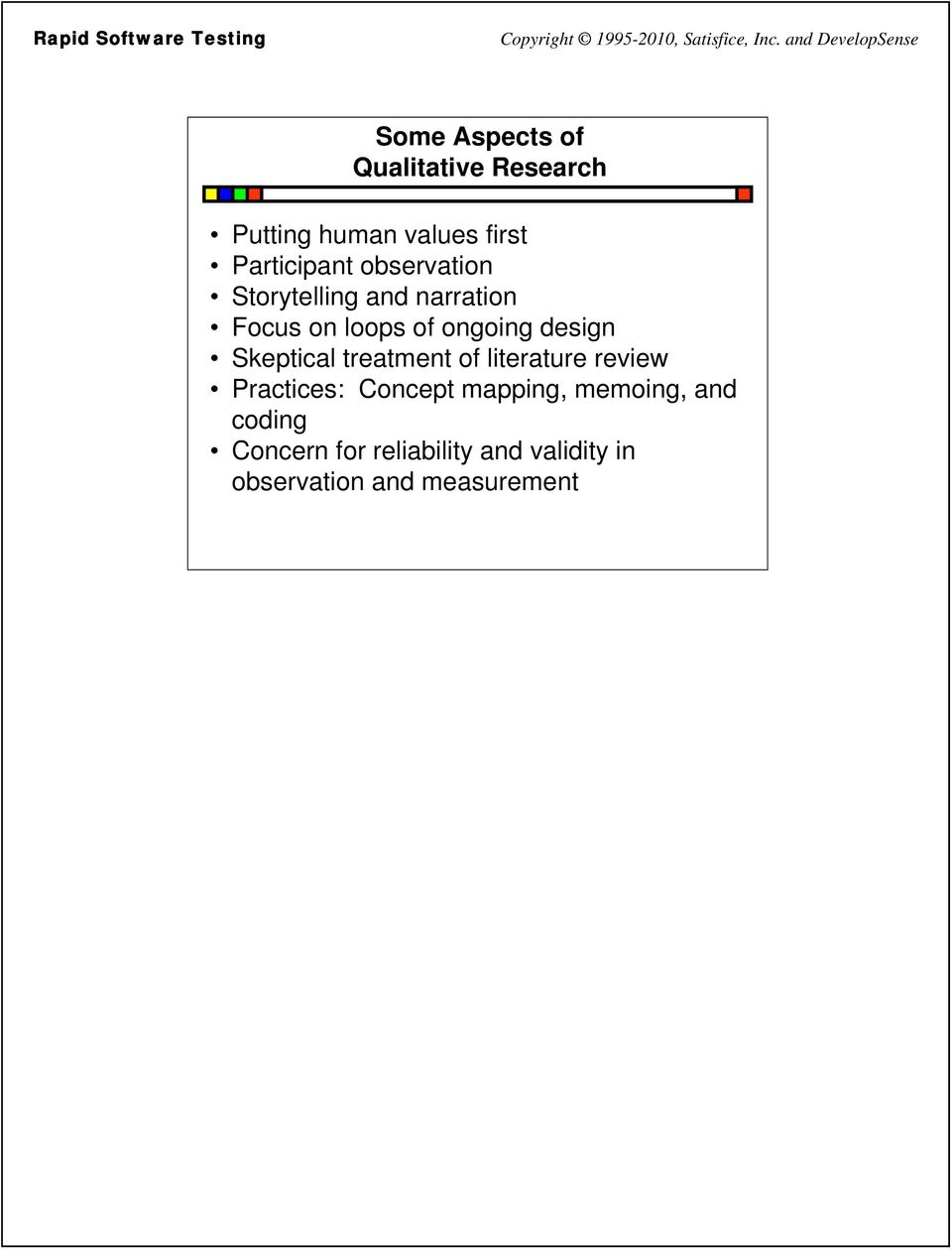 what is the purpose of a literature review in quantitative research
