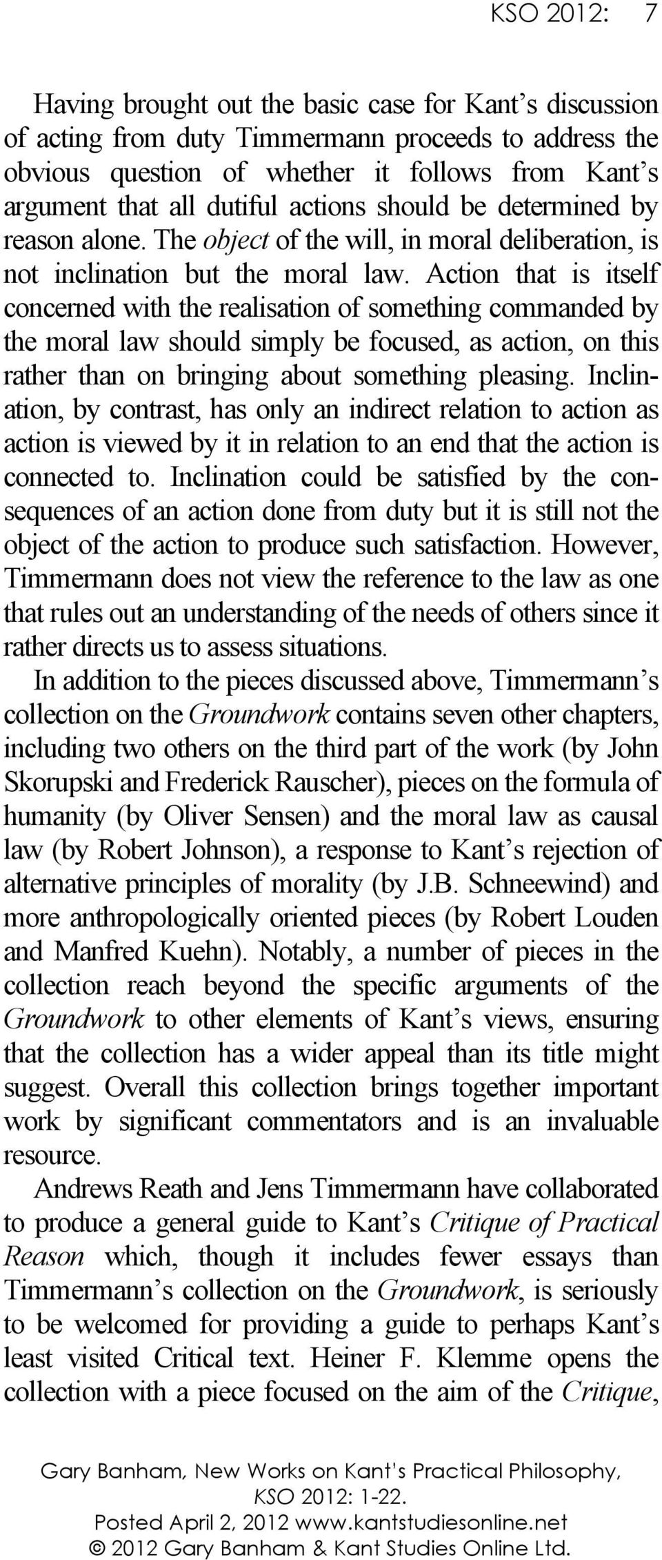 """something on kant essay Themes of the essay in some detail, i argue that, read in context, kant's call to """" think  enlightenment kant defined and urged in his famous essay is something ."""