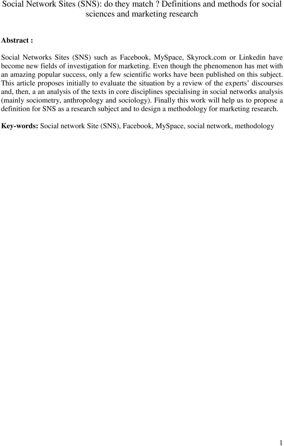 Advantages and Disadvantages of Social Networking
