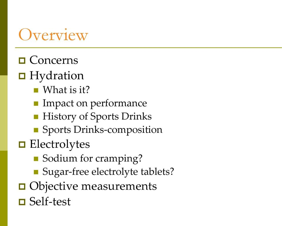 Sports Drinks-composition Electrolytes Sodium for
