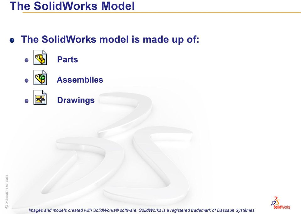 introduction to solidworks software What is solidworks solidworks is design automation software in solidworks, you sketch ideas and experiment with different designs to create 3d models.