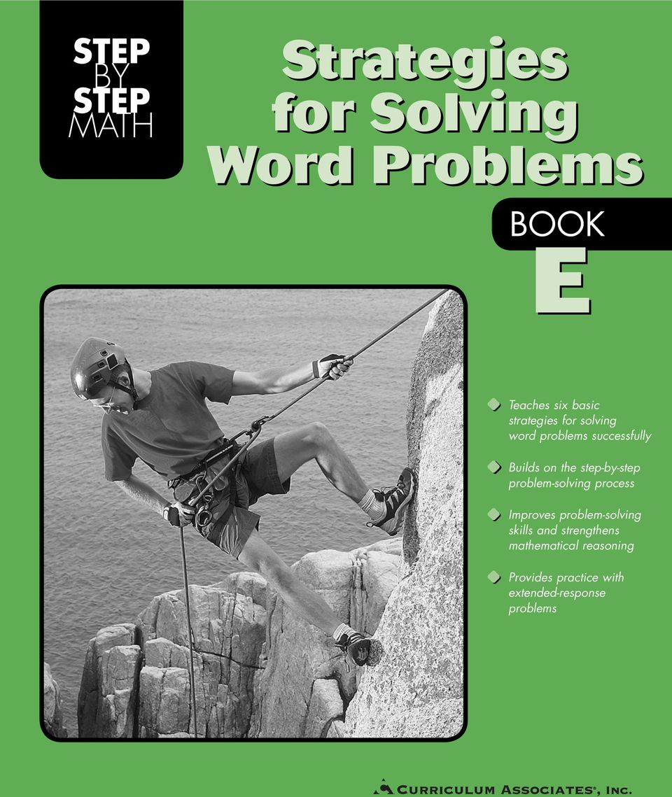 step-by-step problem-solving process Improves problem-solving skills and