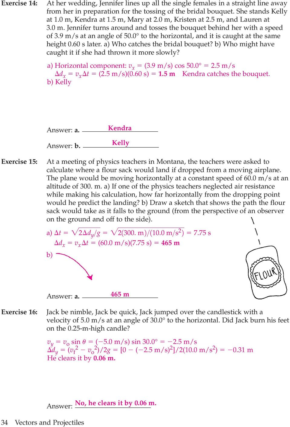 worksheet Vectors And Projectiles Worksheet 3 2 projectile motion pdf 0 to the horizontal and it is caught at same height 60 s later