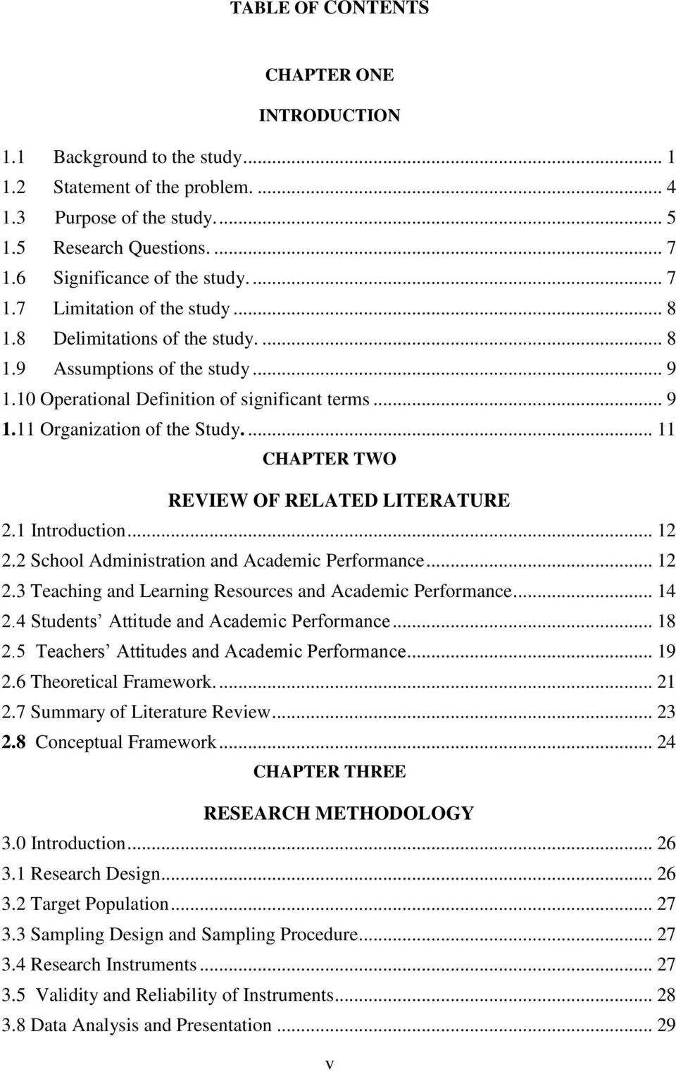 review of related literature on the academic performance of students Study habits have significant effect to student's academic achievement in their  learning process 4 2 components of study habit study habits have some.