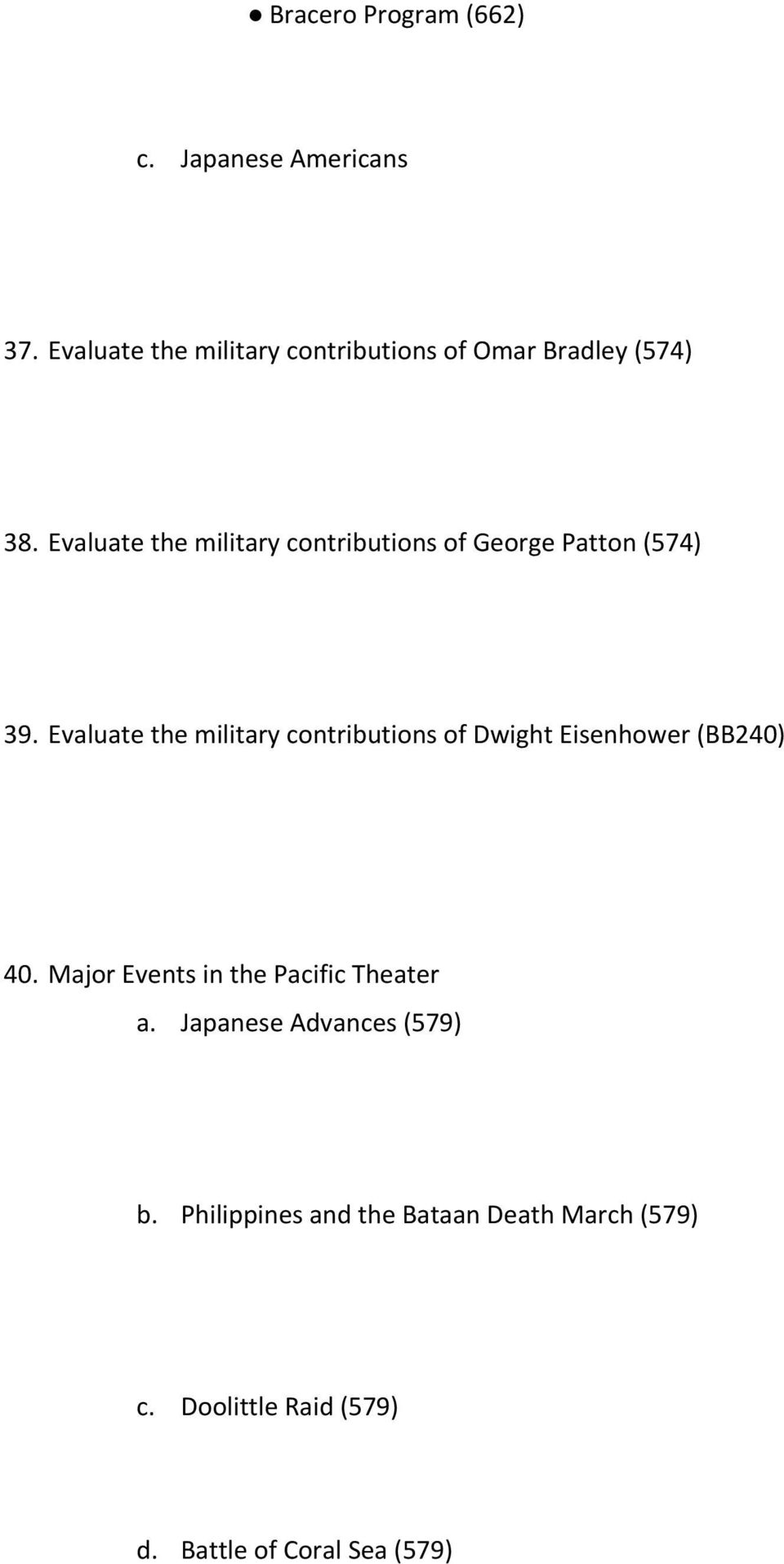 Evaluate the military contributions of George Patton (574) 39.
