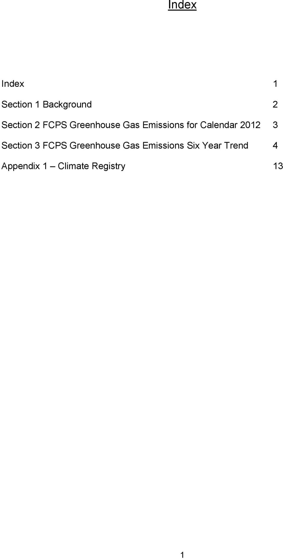 2012 3 Section 3 FCPS Greenhouse Gas Emissions