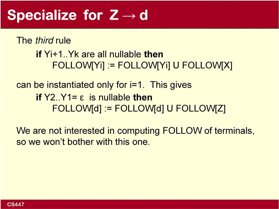 instantiated only for i=1. This gives if Y2.