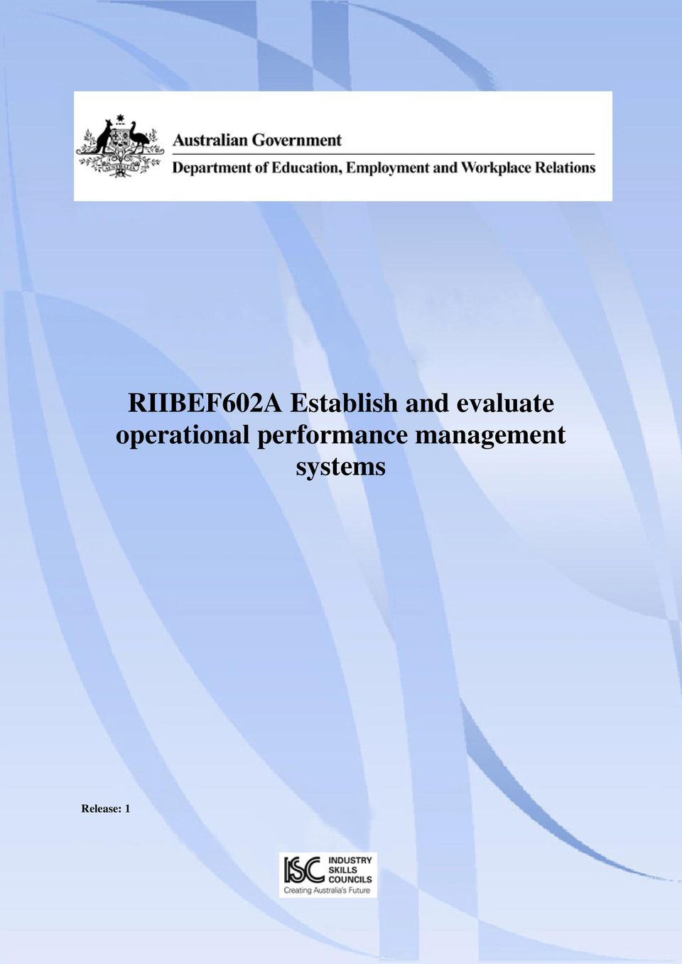 evaluate operational