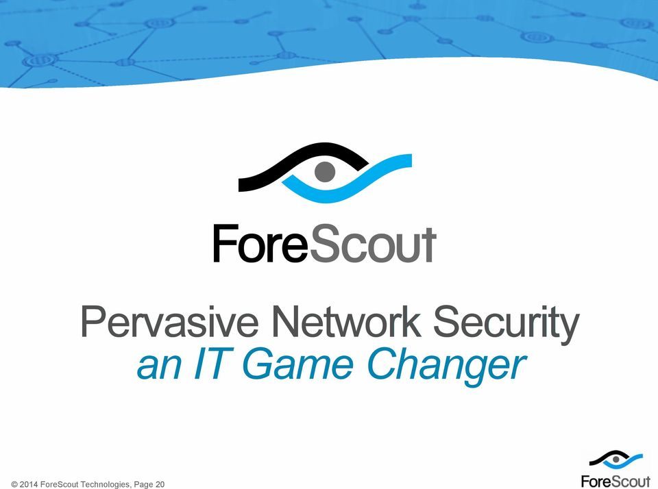 ForeScout Technologies, Page