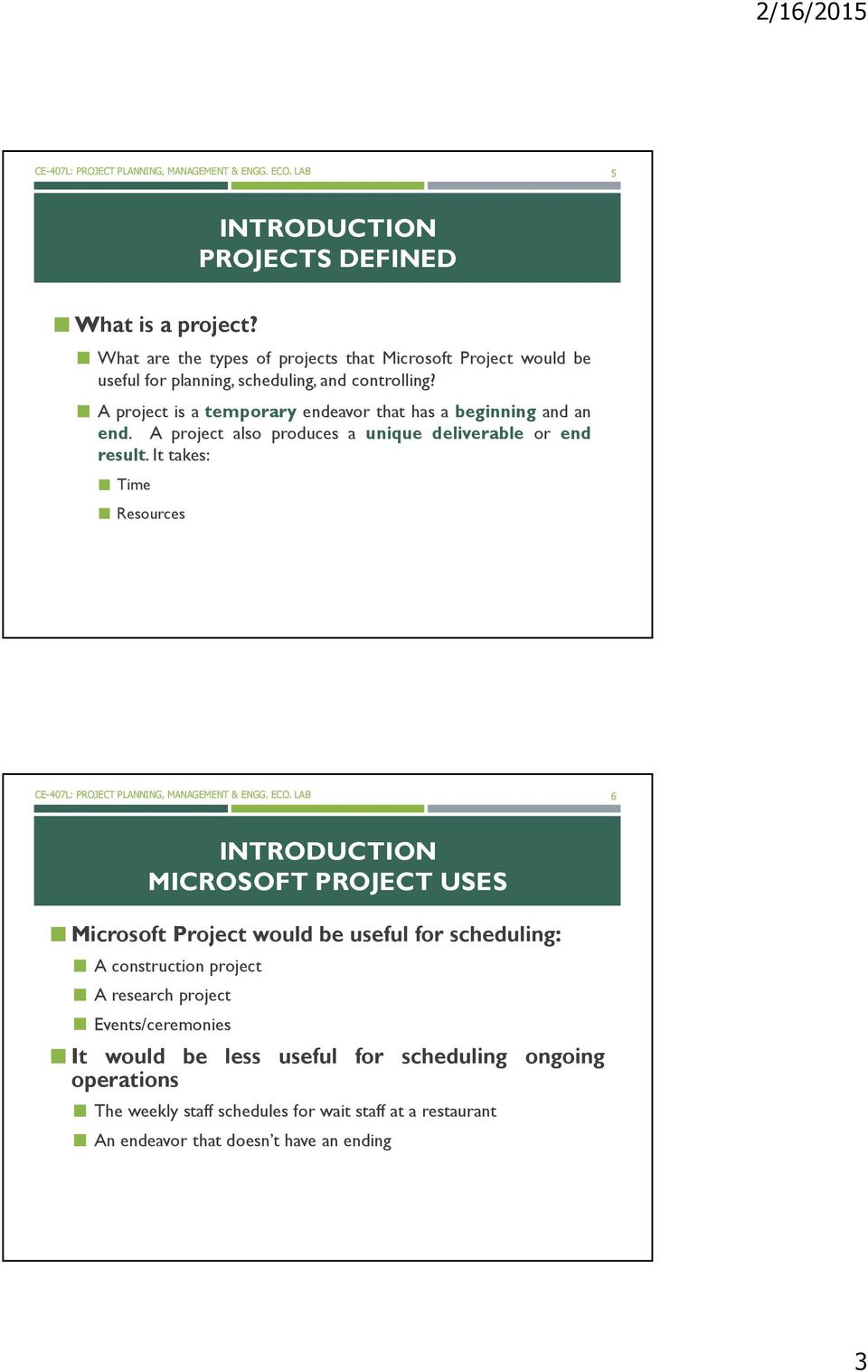 ms project tutorial for beginning pdf