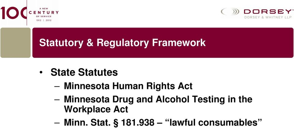 Minnesota Drug and Alcohol Testing in the