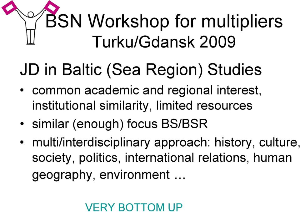 BS/BSR multi/interdisciplinary approach: history, culture, society,