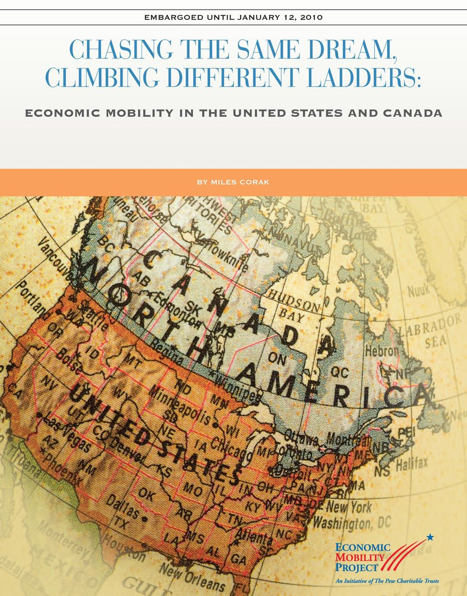 DIFFERENT LADDERS: ECONOMIC MOBILITY