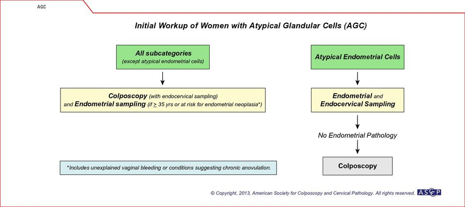 (if > 35 yrs or at risk for endometrial neoplasia*) Endometrial and Endocervical Sampling No