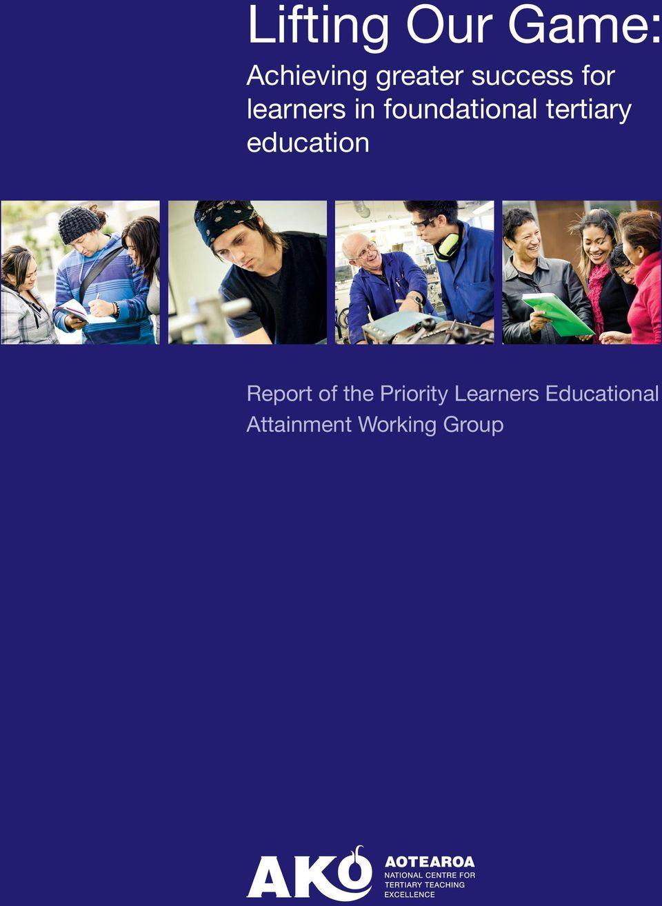 tertiary education Report of the