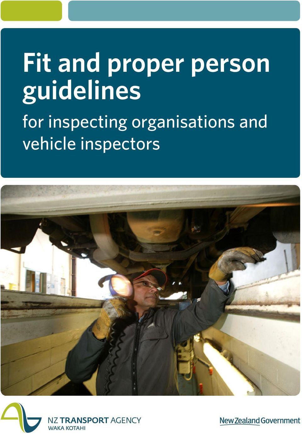 for inspecting