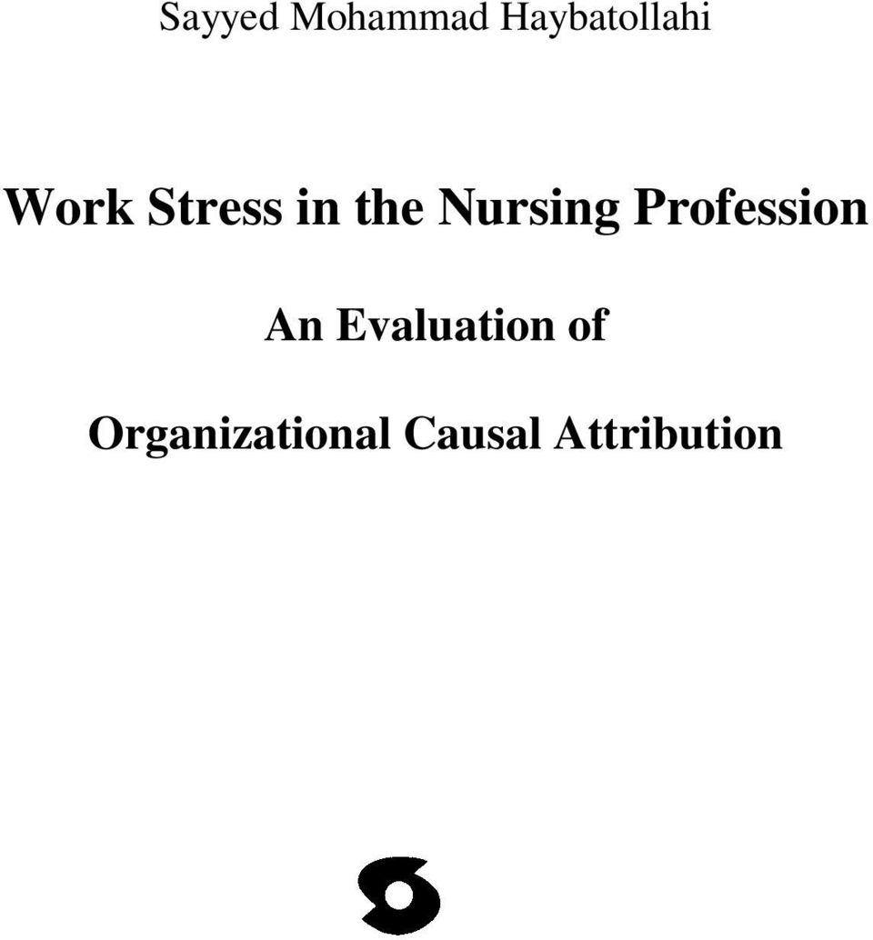 Profession An Evaluation of