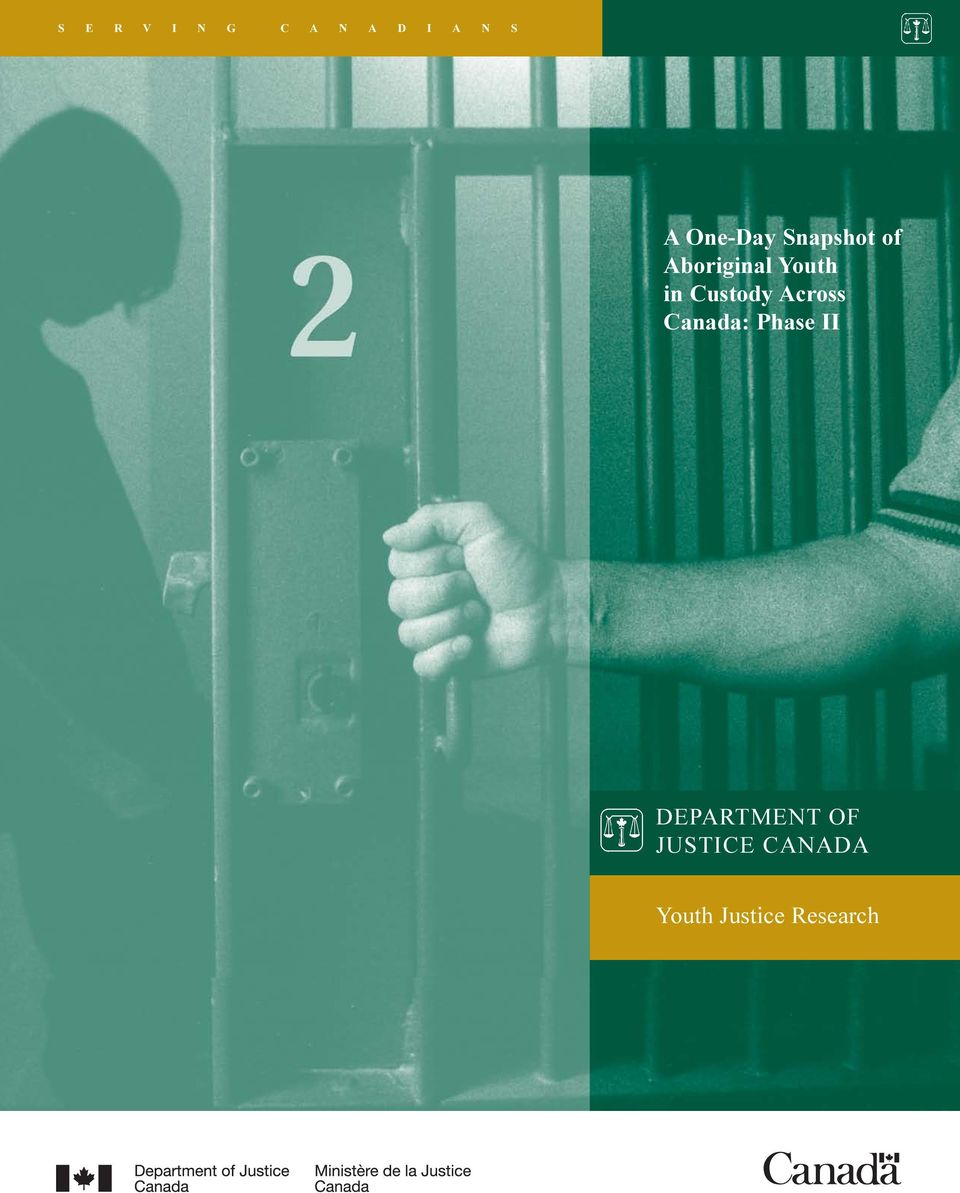 Custody Across Canada: Phase II
