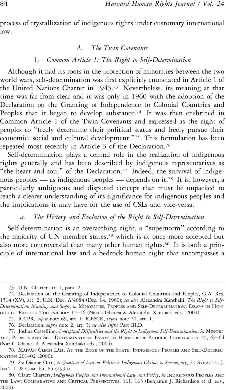 of the United Nations Charter in 1945.
