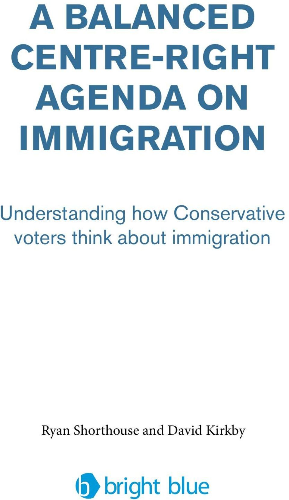 Conservative voters think about