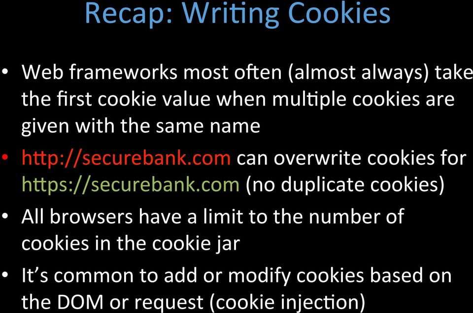 com can overwrite cookies for h1ps://securebank.