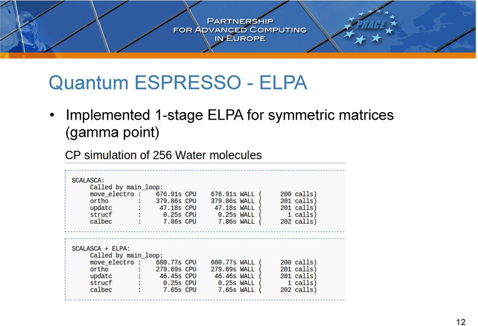 1-stage ELPA for