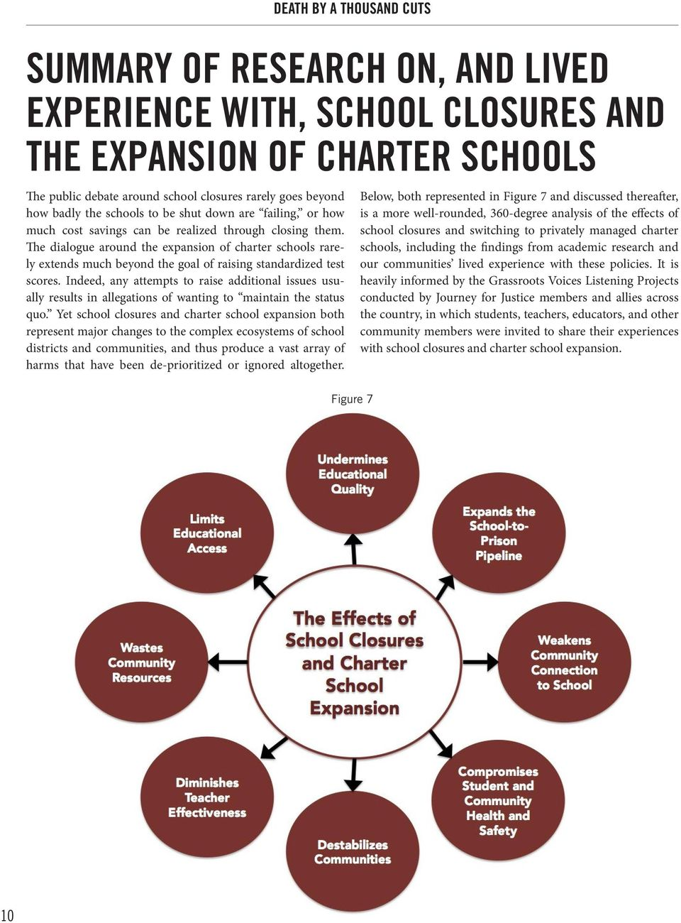 The dialogue around the expansion of charter schools rarely extends much beyond the goal of raising standardized test scores.