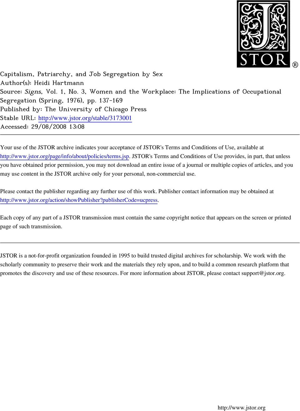 org/stable/3173001 Accessed: 29/08/2008 13:08 Your use of the JSTOR archive indicates your acceptance of JSTOR's Terms and Conditions of Use, available at http://www.jstor.
