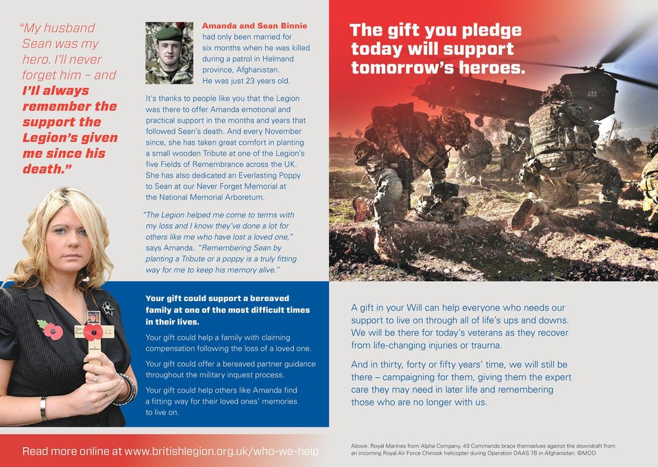 The gift you pledge today will support tomorrow s heroes.