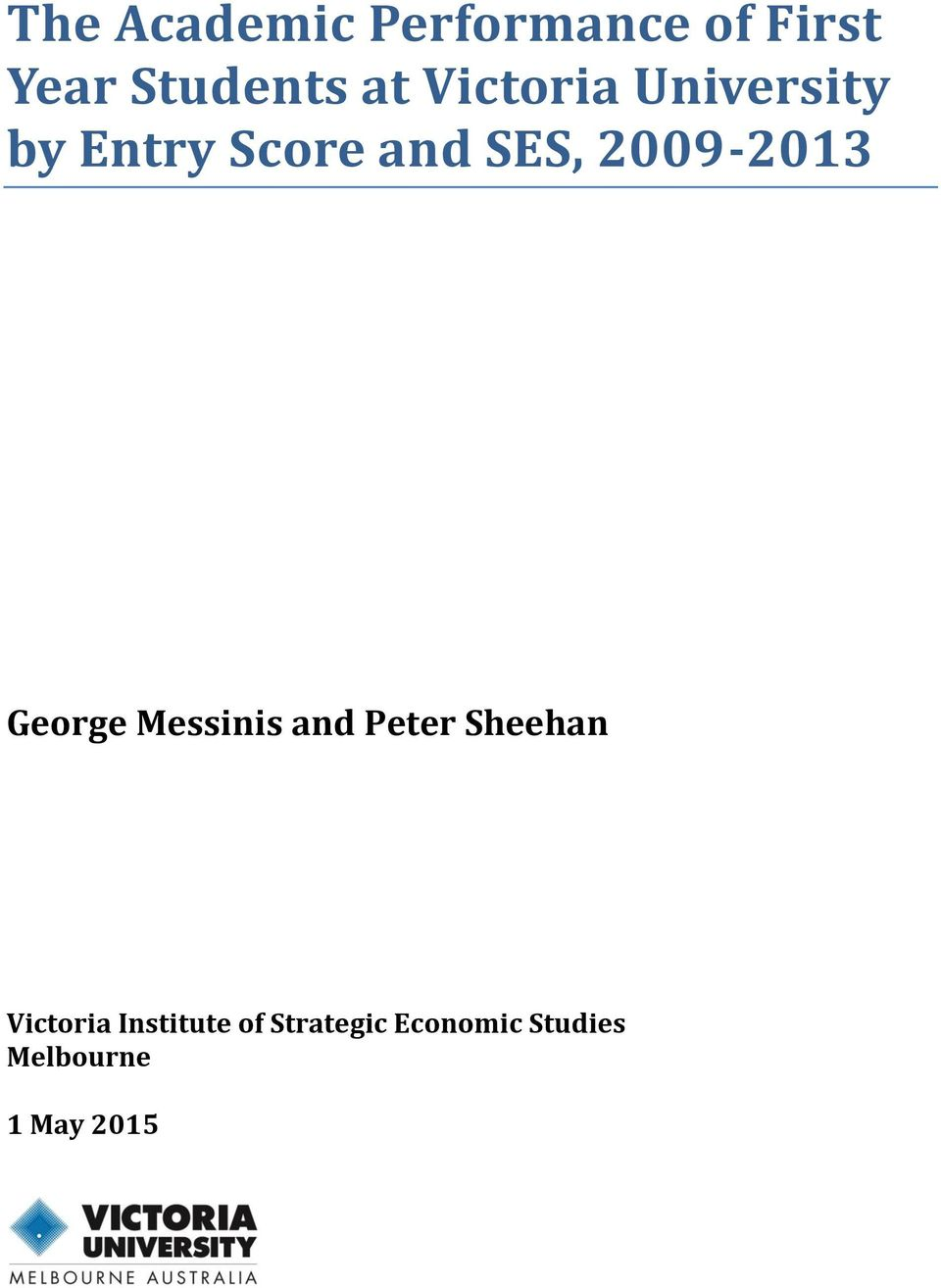 2009-2013 George Messinis and Peter Sheehan