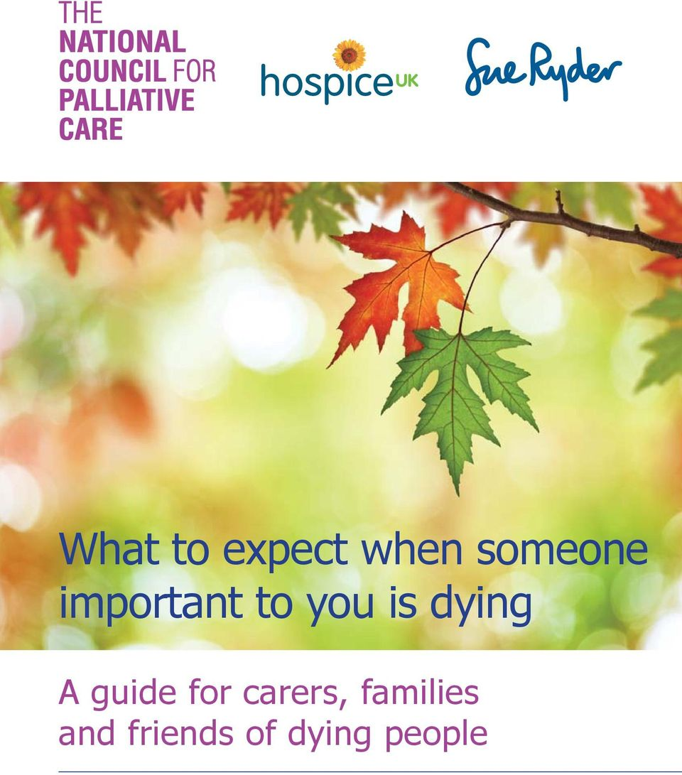 guide for carers, families